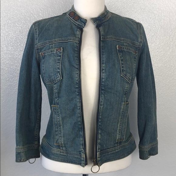 Calvin Klein Jackets & Blazers - Calvin Klein   Acid Wash Denim Jacket